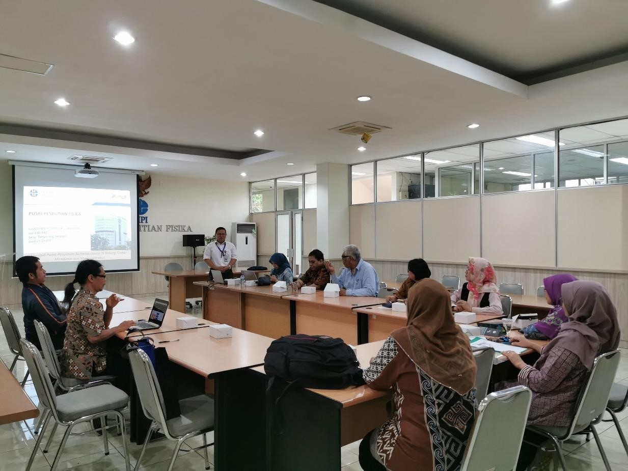 Towards the Center of Excellent in Research, ASMAT visited the Indonesian Institute of Sciences (LIPI)